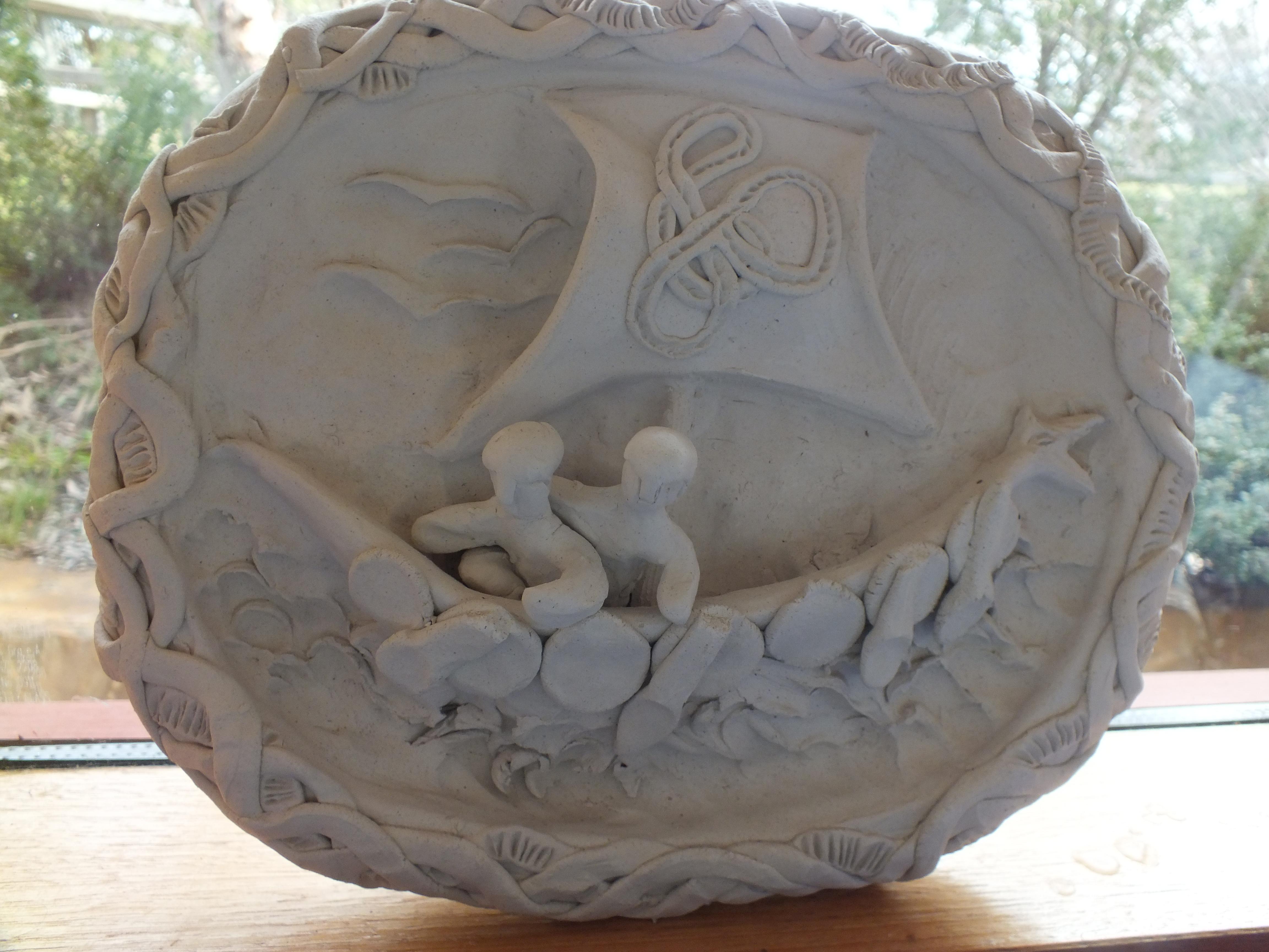 sculpture relief